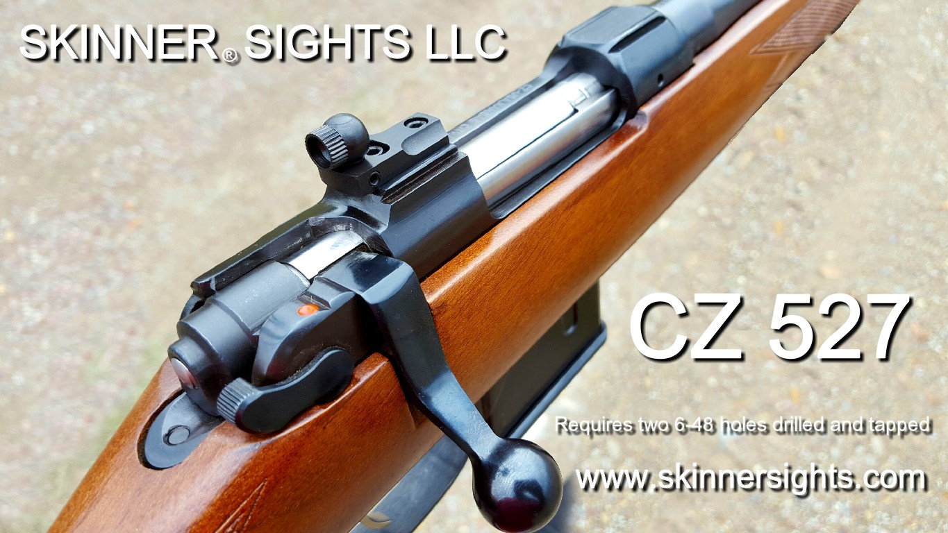 "CZ has been making these beautiful small action rifles for many years. They  come in ""fun chamberings"" like 22 Hornet, 204 Ruger, 223 Remington, ..."